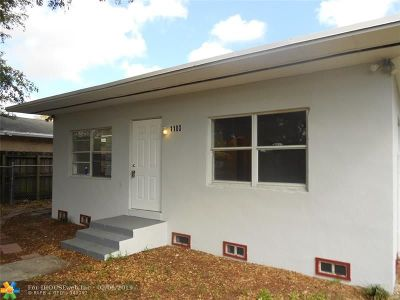 Broward County, Collier County, Lee County, Palm Beach County Rental For Rent: 1100 NW 7th Ave