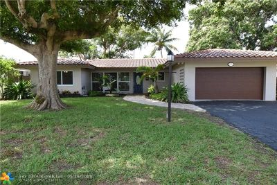 Fort Lauderdale Single Family Home For Sale: 2931 Coral Shores Dr