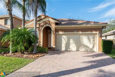 Coconut Creek Single Family Home For Sale: 3789 Woodfield Dr