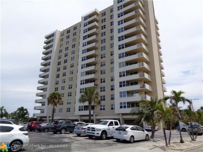 Pompano Beach Condo/Townhouse For Sale: 2639 N Riverside Dr #206