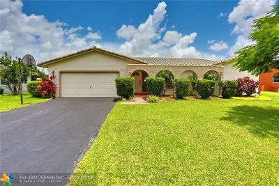 Coral Springs Single Family Home For Sale: 1979 NW 81st Ave