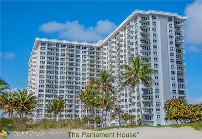 Pompano Beach Condo/Townhouse For Sale: 405 N Ocean Blvd #1704