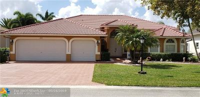Coral Springs Single Family Home For Sale: 4926 NW 107th Ave