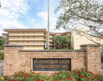 Plantation Condo/Townhouse For Sale: 6755 W Broward Blvd #102
