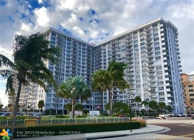 Pompano Beach Condo/Townhouse For Sale: 405 N Ocean Blvd #615