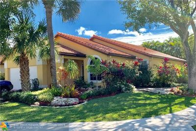 Coconut Creek Single Family Home For Sale: 4930 NW 56th St