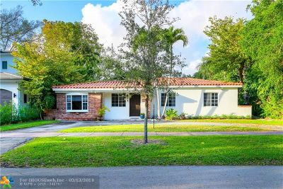 Coral Gables Single Family Home For Sale: 421 Amalfi Ave