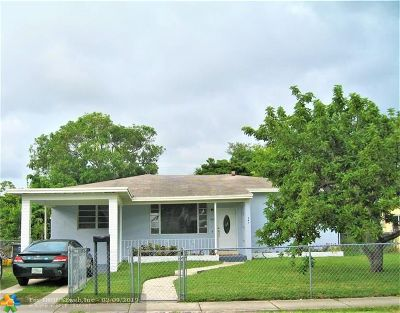 North Miami Single Family Home For Sale: 967 NE 145th St