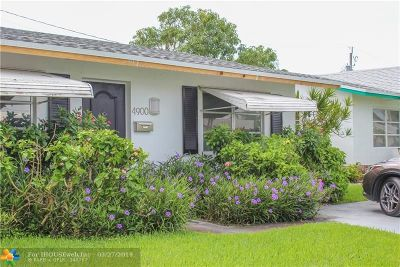 Tamarac Single Family Home For Sale: 4900 NW 27th Way