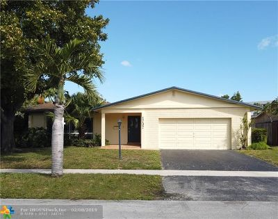 Oakland Park Single Family Home For Sale: 1737 NW 36th Ct