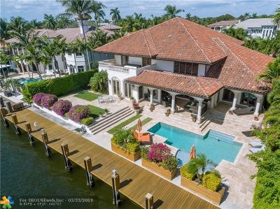 Cooper City, Coral Springs, Fort Lauderdale, Hallandale, Hillsboro Beach, Hollywood, Lighthouse Point, Oakland Park, Plantation, Pompano Beach, Sunrise, Wilton Manors Single Family Home For Sale: 2740 NE 17th St