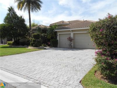 Coral Springs Single Family Home For Sale: 12049 NW 50th Dr