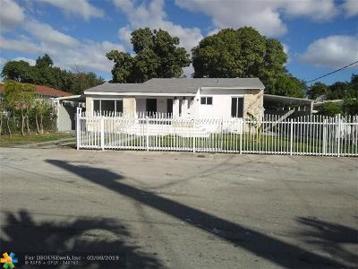 Miami Single Family Home For Sale: 3185 SW 5th St