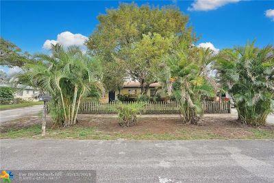 West Palm Beach Single Family Home For Sale: 1324 Barrington Dr