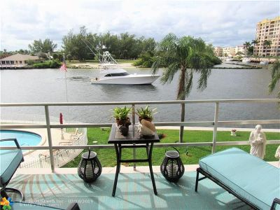 Pompano Beach Condo/Townhouse For Sale: 1111 N Riverside Dr #303