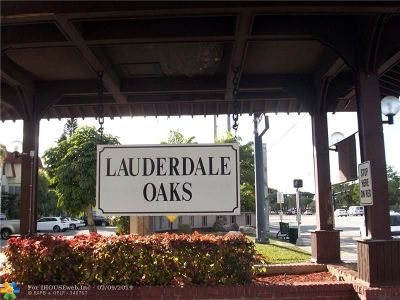 Lauderdale Lakes Condo/Townhouse For Sale: 3061 NW 47th Ter #331B