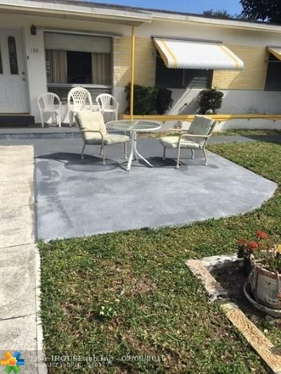 Dania Beach Single Family Home Backup Contract-Call LA: 139 NW 14th Way
