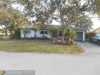 Fort Lauderdale Single Family Home For Sale: 3110 NW 69th St