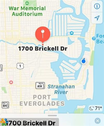 Rental For Rent: 1700 Brickell Dr