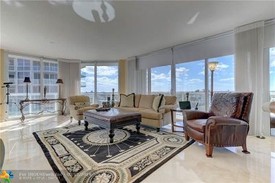 Broward County Condo/Townhouse For Sale: 6051 N Ocean Dr #702