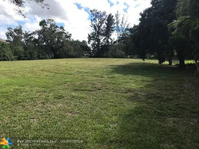 Coral Springs Residential Lots & Land For Sale: NW 42nd St