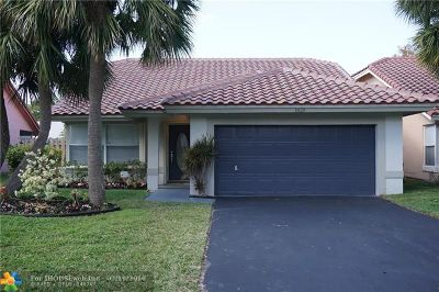 Coral Springs Single Family Home For Sale: 1820 NW 97th Ave