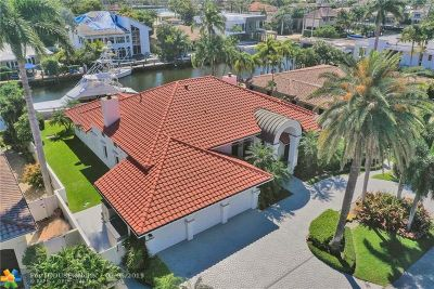 Fort Lauderdale Single Family Home For Sale: 34 Pelican Dr