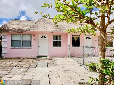 Fort Lauderdale Multi Family Home For Sale: 1515-1517 NW 8th Ave