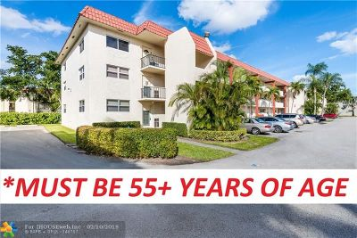Pembroke Pines Condo/Townhouse For Sale: 371 S Hollybrook Dr #110