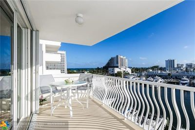 Fort Lauderdale Condo/Townhouse For Sale: 1 Las Olas Circle #514