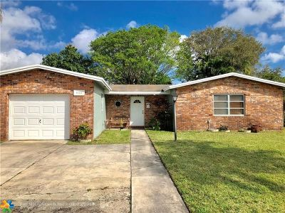 North Lauderdale Single Family Home Backup Contract-Call LA: 840 SW 67th Ave