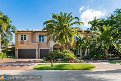 Plantation Single Family Home For Sale: 492 Sweet Bay Ave