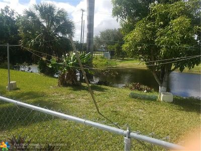 Lauderdale Lakes Single Family Home Backup Contract-Call LA: 3881 NW 34th Way