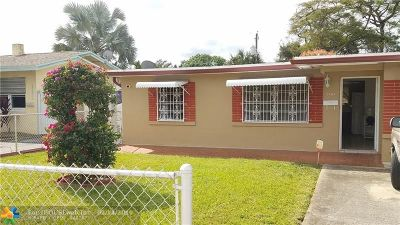Fort Lauderdale Single Family Home For Sale: 1161 SW 24th Ave