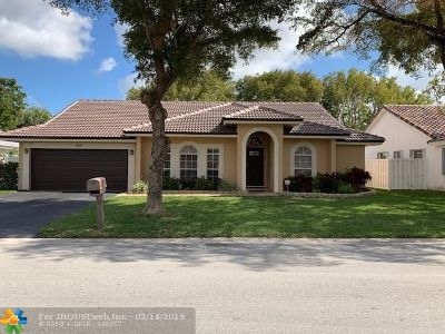 Coral Springs Single Family Home For Sale: 4511 NW 88th Ter