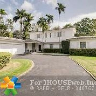 Miami Single Family Home For Sale: 598 Hibiscus Ln
