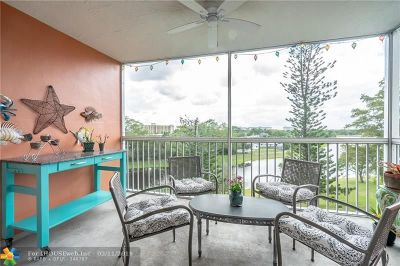 Pompano Beach Condo/Townhouse For Sale: 3010 N Course Dr #511