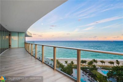 Broward County Condo/Townhouse For Sale: 2200 N Ocean Blvd #1201