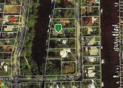 Fort Lauderdale Single Family Home For Sale: 119 N Gordon Rd