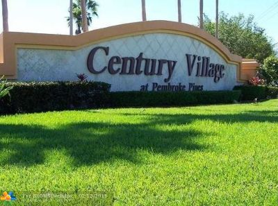 Pembroke Pines Condo/Townhouse For Sale: 1500 SW 131st Way #313N