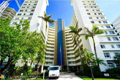 Pompano Beach Condo/Townhouse For Sale: 710 N Ocean Blvd #502