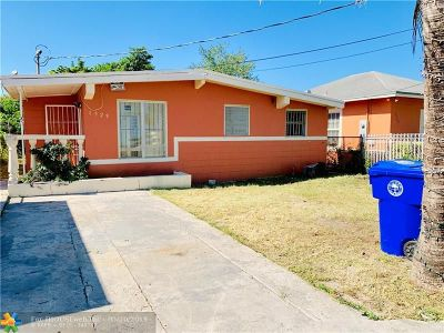 Miami Single Family Home For Sale: 1529 NW 67th St