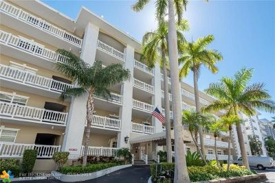 Fort Lauderdale Condo/Townhouse For Sale: 3080 NE 47th Ct #405