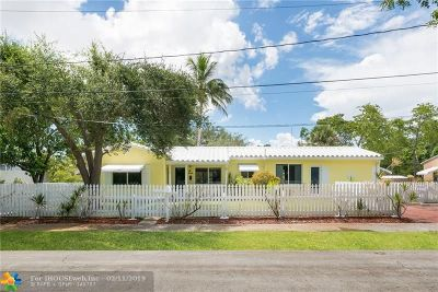 Fort Lauderdale Single Family Home For Sale: 208 SW 11th Court