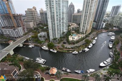 Fort Lauderdale Condo/Townhouse For Sale: 511 SE 5th Ave #2301