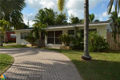 Wilton Manors Single Family Home For Sale: 309 NW 27th St