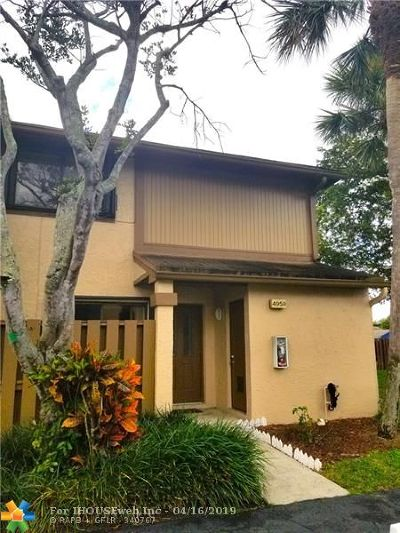 Lauderhill Condo/Townhouse For Sale: 4959 NW 82nd Ave #4959