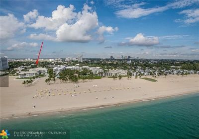 Fort Lauderdale Condo/Townhouse For Sale: 1750 S Ocean Ln #121