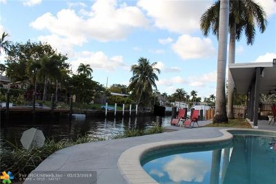 Fort Lauderdale Single Family Home For Sale: 2523 Bimini Ln