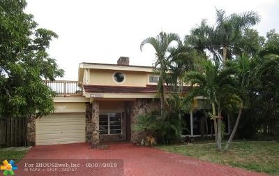 Pompano Beach Single Family Home For Sale: 1988 W Terra Mar Dr